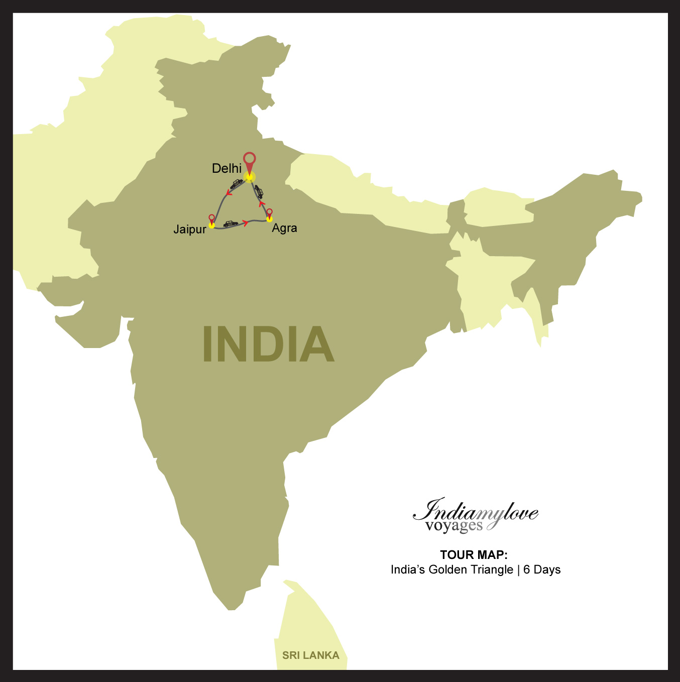 India S Golden Triangle India My Love Voyages