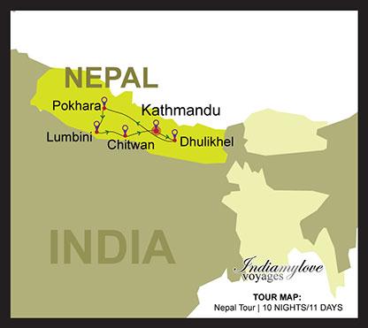 map_Nepal-Tour1
