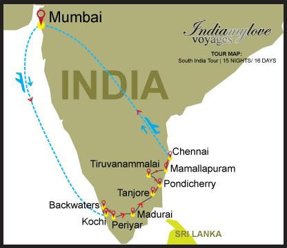 map_South-India-Tour